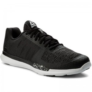Black Friday 2020 | Reebok Chaussures Sprint Tr CN1232 Blk/Wht/Skull Grey