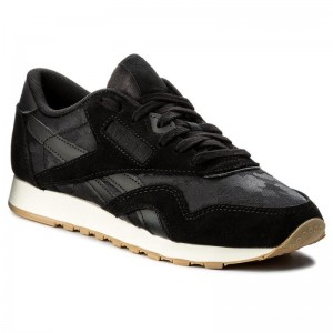 Reebok Chaussures Cl Nylon Sg BS9569 Black/Chalk