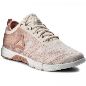 Black Friday 2020 | Reebok Chaussures Speed Her Tr CN0993 Pink/White/Silver