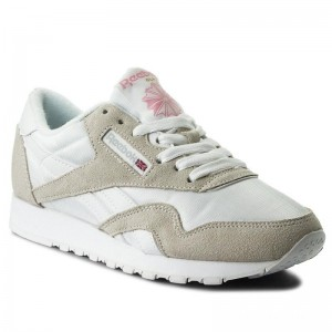 Reebok Chaussures Cl Nylon 6394 White/Light Grey