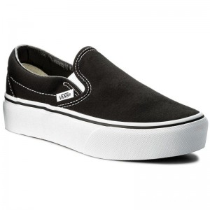 Black Friday 2020 | Vans Tennis Classic Slip-On P VN00018EBLK Noir