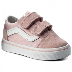 Vans Tennis Old Skool V VN0A344KQ7K (Suede/Canvas) Chalk Pink