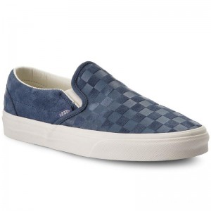 Vans Tennis Classic Slip-On VN0A38F7QCH (Checker Emboss) Vintage