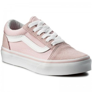 Black Friday 2020 | Vans Tennis Old Skool VN0A38HBQ7K (Suede/Canvas) Chalk Pink