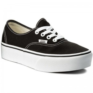 Black Friday 2020 | Vans Tennis Authentic Platform VN0A3AV8BLK Black