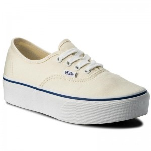 Vans Tennis Authentic Platform VN0A3AV8JTT (Canvas) Classic White/Tr