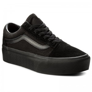 Black Friday 2020 | Vans Tennis Old Skool Platfor VN0A3B3UBKA Black/Black