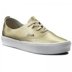 [Vente] Vans Tennis Authentic Decon VN0A38ERJYQ (Leather) Gold