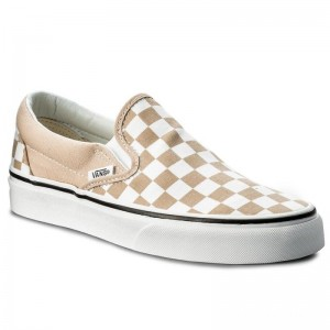 Black Friday 2020 | Vans Tennis Classic Slip-On VN0A38F7QCO (Checkerboard) Frappe/Tru