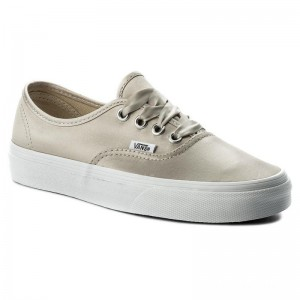 Vans Tennis Authentic VA38EMQ9J (Satin Lux) Light Silver