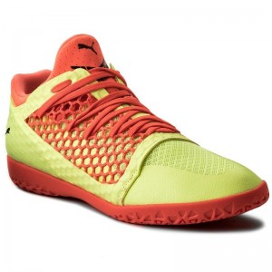 Puma Chaussures 365 NetFit Ct 104474 05 Yellow/Red/Black