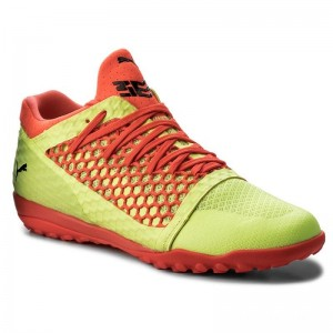 Puma Chaussures 365 NetFit St 104475 05 Yellow/Red/Black