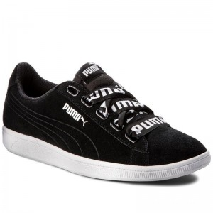 Black Friday 2020 | Puma Sneakers Vikky Ribbon Bold 365312 01 Black/Puma Black