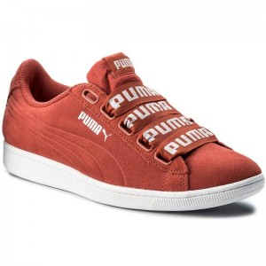 Black Friday 2020 | Puma Sneakers Vikky Ribbon Bold 365312 02 Spiced Coral/Spiced Coral