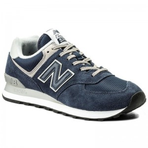 New Balance Sneakers ML574EGN Bleu marine
