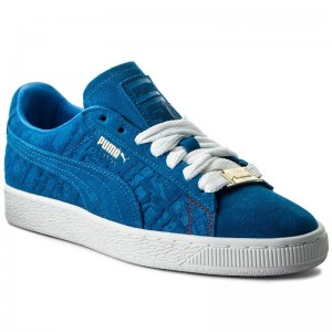 Puma Sneakers Suede Classic Paris 366298 01 Electric Blue Lemonade