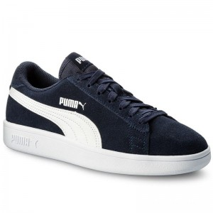 Puma Sneakers Smash V2 Sd Jr 365176 02 Peacoat/Puma White