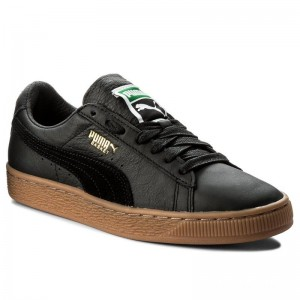 Black Friday 2020 | Puma Sneakers Basket Classic Gum Deluxe 365366 02 Black