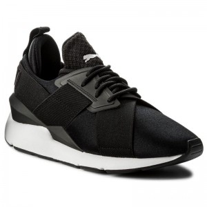 Puma Sneakers Muse Satin EP 365534 03 Black/Puma White
