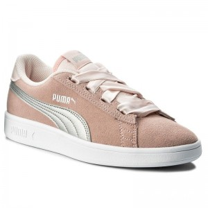 Puma Sneakers Smash V2 Ribbon Jr 366003 02 Pearl/Puma Silver