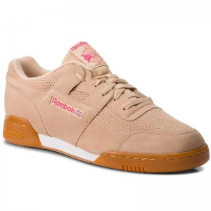 Reebok Chaussures Workout Plus Mu CN5195 Sahara/Twisted Pink/White