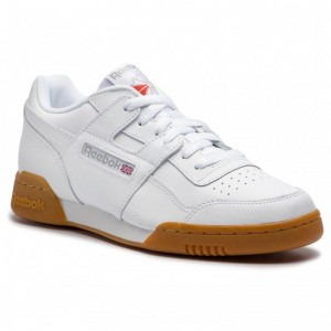Black Friday 2020 | Reebok Chaussures Workout Plus CN2126 White/Carbon/Red/Royal
