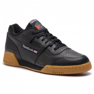 Black Friday 2020 | Reebok Chaussures Workout Plus CN2127 Black/Carbon/Red/Royal