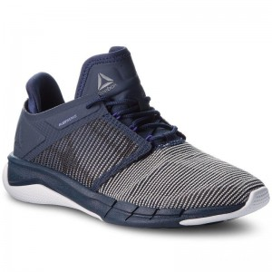 Black Friday 2020 | Reebok Chaussures Fast Flexweave CN2536 Navy/Purple/White