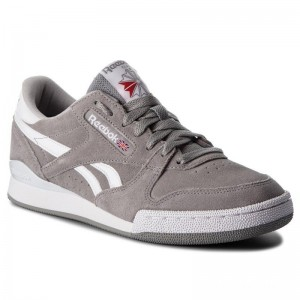 Black Friday 2020 | Reebok Chaussures Phase 1 Pro Mu CN4981 Tin Grey/White