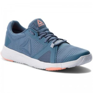Black Friday 2020 | Reebok Chaussures Flexile CN5365 Blue/Grey/Pink/White