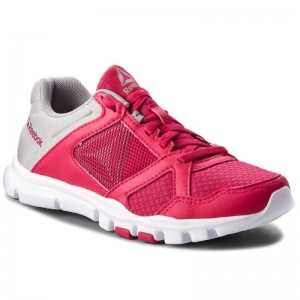 Reebok Chaussures Yourflex Trainette 10 Mt CN5653 Rugged Rose/Tin Grey/Wht