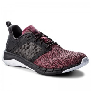 Black Friday 2020 | Reebok Chaussures Print Run 3.0 CN4912 Berry/Coal/White