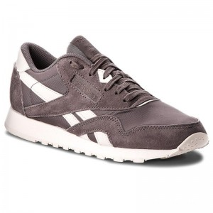 Black Friday 2020 | Reebok Chaussures Cl Nylon CN2887 Almost Grey/Pale Pink