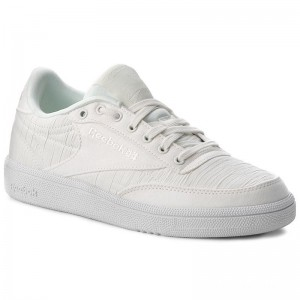 Reebok Chaussures Club C 85 Ef Txt CN3280 Chalk/Holiday