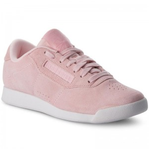 Black Friday 2020 | Reebok Chaussures Princess Lthr CN3675 Pink/White