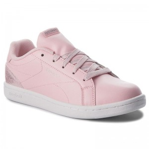 Black Friday 2020 | Reebok Chaussures Royal Complete Cln CN5070 Pastel/Pink/Wht/Silver