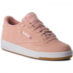 Black Friday 2020 | Reebok Chaussures Club C 85 CN5202 Peach Twist/Gum/White