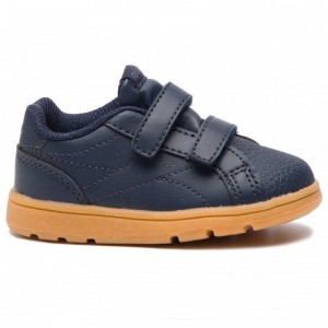 Reebok Chaussures Royal Comp Cln 2V CN4801 Coll Navy/Graphite/Gum