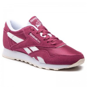 Reebok Chaussures Cl Nylon CN4018 Twisted Berry/White/Chalk