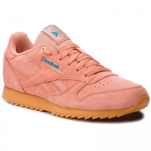 Reebok Chaussures Cl Lthr Ripple CN5169 Dirty Apricot/Gum