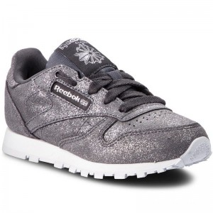 Reebok Chaussures Classic Leather CN5588 Pewter/Ash Grey/White