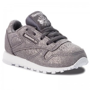 Reebok Chaussures Classic Leather CN5590 Pewter/Ash Grey/White