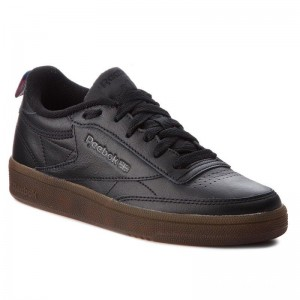 Reebok Chaussures Club C 85 CN4054 Black/White/Gum