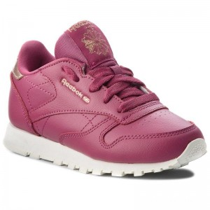 Black Friday 2020 | Reebok Chaussures Classic Leather CN5566 Twisted Berry/Chalk