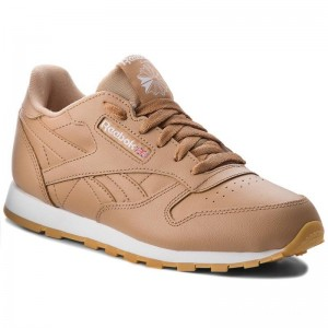 Reebok Chaussures Classic Leather CN5610 Soft Camel/White