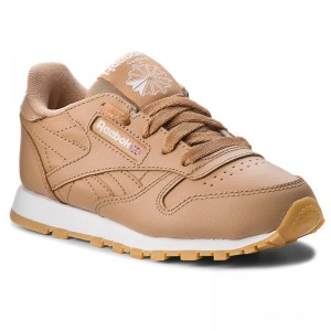 Black Friday 2020 | Reebok Chaussures Classic Leather CN5611 Soft Camel/White