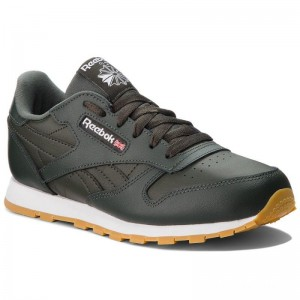 Black Friday 2020 | Reebok Chaussures Classic Leather CN5613 Dark Cypress/White