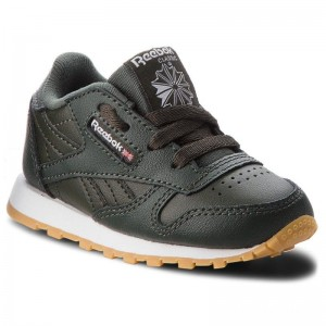 Reebok Chaussures Classic Leather CN5615 Dark Cypress/White