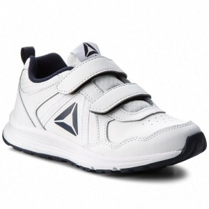 Black Friday 2020 | Reebok Chaussures Almotio 4.0 2V CN4220 White/Col Navy/Pewter