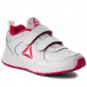Black Friday 2020 | Reebok Chaussures Almotio 4.0 2V CN4234 Wht/Pink/Slvr